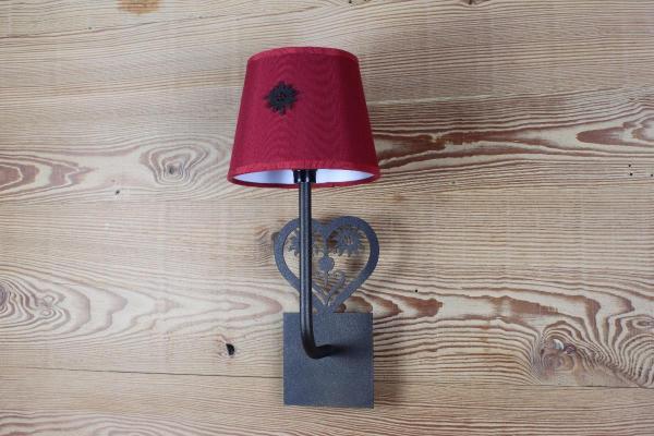 GA019 - Heart With Edelweiss | FérArt Design