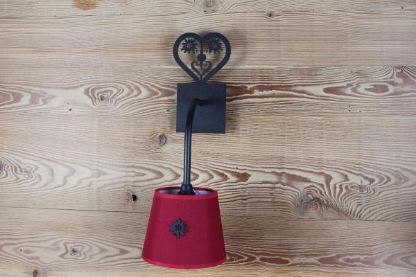 G019 - Heart With Edelweiss | FérArt Design