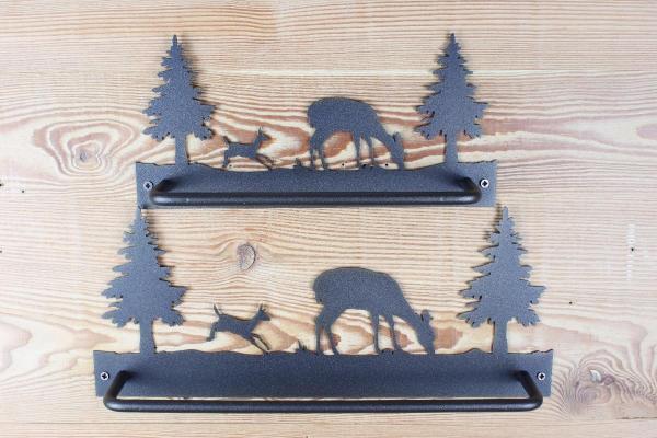 N006-O006 - Mamma Cerva & Bambi (Salto) | FérArt Design