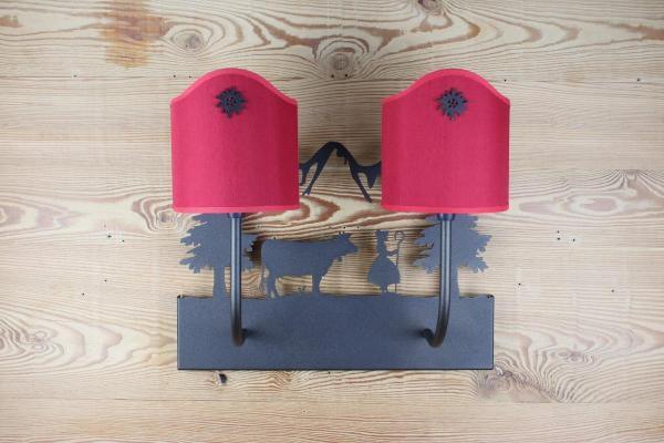 UV012 - Mucca & Pastorella   FérArt Design